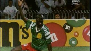 Roger Milla - 1982, 1990, 1994  FIFA World Cup Classic Players
