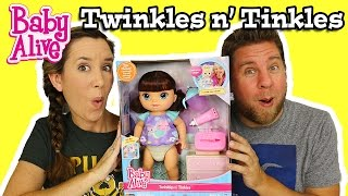 Baby Alive Twinkles n' Tinkles Review And Play