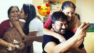 Megastar Chiranjeevi mother Special Birthday celebrated By Niharika Konidela | pawan kalyan | FL