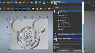 TUTORIAL 3D RELIEF ARTCAM