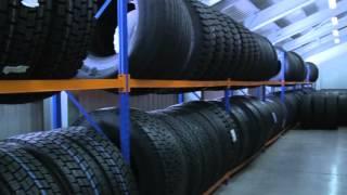 Грузовые шины в шинном центре