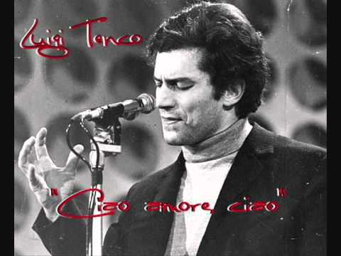 "Luigi Tenco - ""Ciao amore, ciao"""