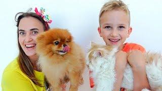 Vlad und seine Mama suchen sich neue Haustiere aus