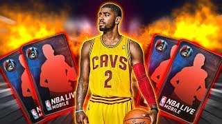 INSANE CONFERENCE FINALS PACK OPENING | RED PAINT EVERYWHERE!!! NBA LIVE MOBILE PACK OPENING