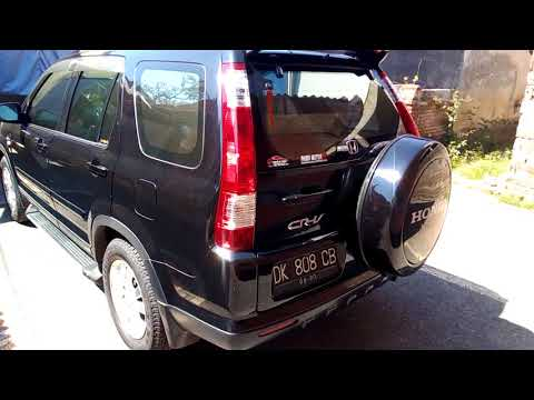 Review Honda CRV 2005 2.0 facelift..