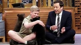 Robert Irwin and Jimmy Play with Baby Black Bears update
