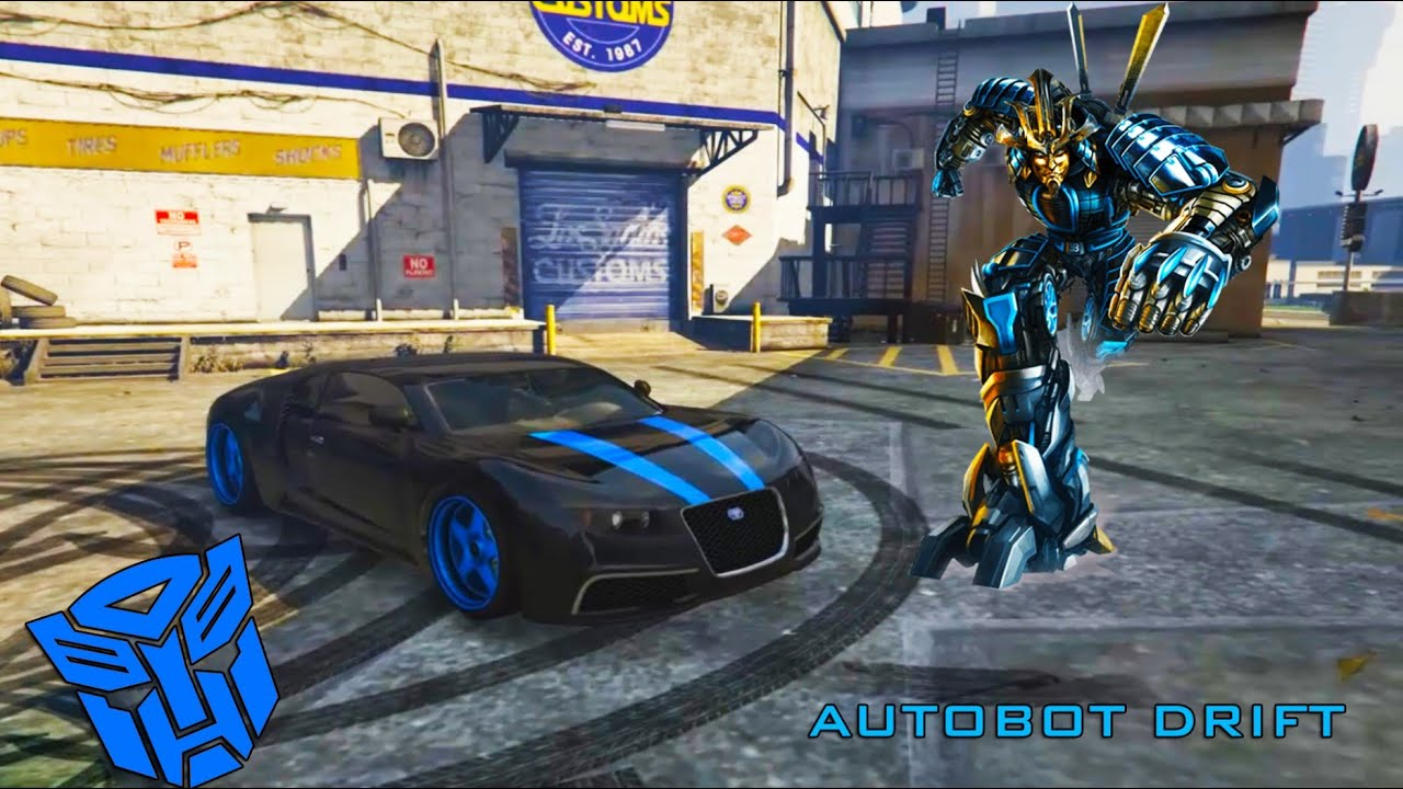 gta v pc - autobot drift (transformers 4) - youtube
