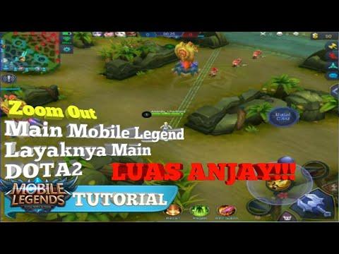 Tutorial Zoom Out/Memperlebar Map Di Game Mobile Legend