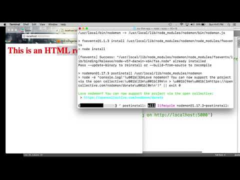 Introduction to Express - Query and Route Parameters - YouTube