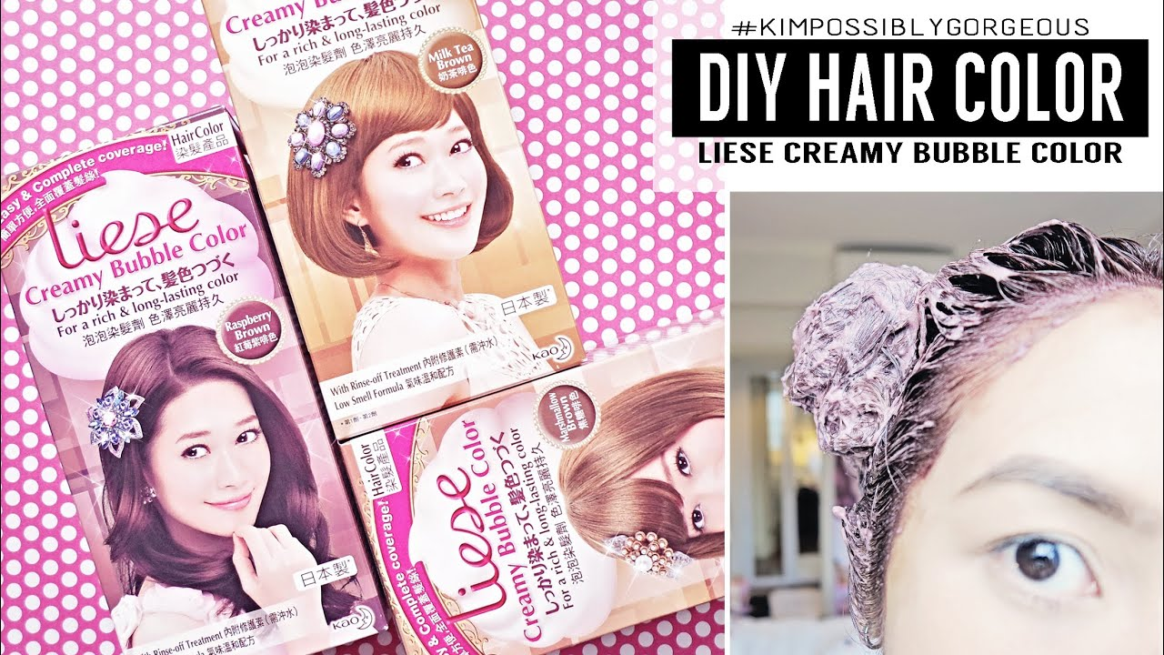 DIY Hair Color with Liese | Kimpossibly Gorgeous - YouTube