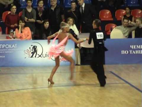 German Pugachev & Ariadna Tishova, ChaCha, Final, Junior II Open Latin, Moscow Championship - 2016