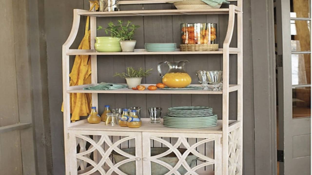 Bon Kitchen Bakers Rack Cabinets