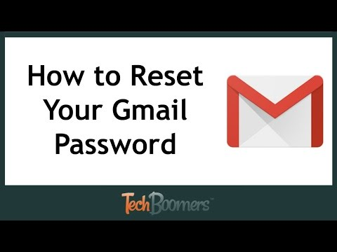 How to change password on gmail account