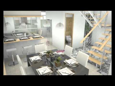 casa moderna minimalista interior 6m x 12 50m youtube