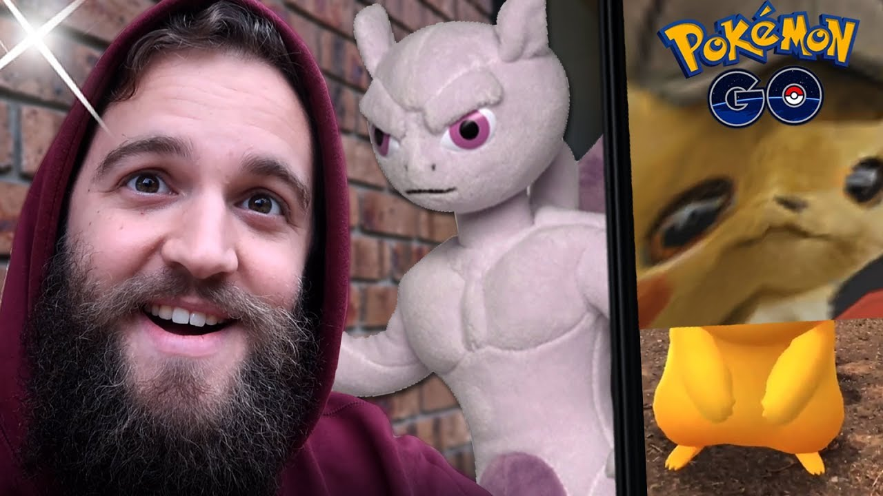 Detective Pikachu Pokemon Are Spooky Catching Detective Hat Pikachu Pokemon Go Youtube
