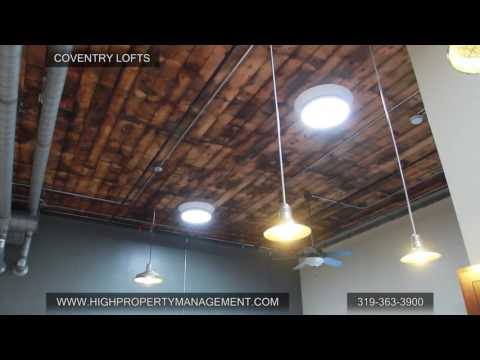 High Property Management Coventry Lofts Downtown Cedar Rapids, IA