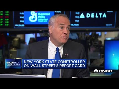 New York State Comptroller Thomas DiNapoli On Wall Street's Report Card