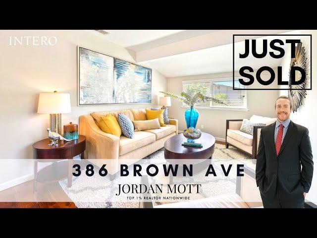 386 Brown Ave, San Jose, CA 95125 | Jordan Mott