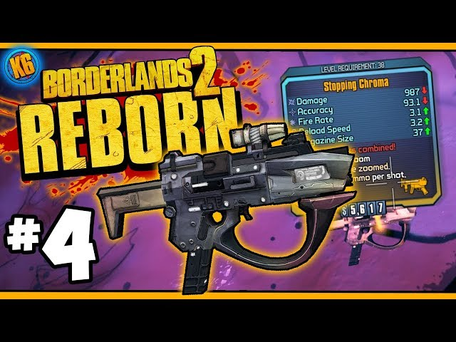 BL2 REBORN! - Axton | Day #4 Funny Moments & Legendary Loot