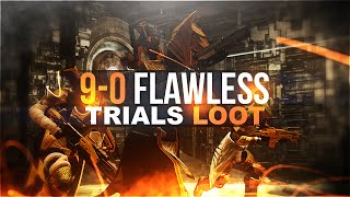 Destiny: 9-0 FLAWLESS TRIALS OF OSIRIS LOOT!