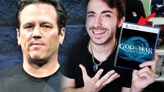 PHIL SPENCER (Xbox) defiende a PS5 y God of War, Y ME GUSTA 🎇