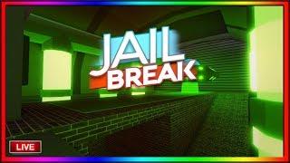 *LIVE* ROBLOX JAILBREAK MILITARY BASE UPDATE ? JAILBREAK GRINDING