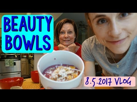 Vlog: BEAUTY BOWLS & DEAD SEA MUD MASK WITH MY MOM 🙆🌊