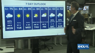 Chief Meteorologist David Paul gives the latest updates on the heavy rain making its way to Houston