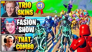 Streamers Host TRIOS Fashion Show | Fortnite Daily Funny Moments Ep.524