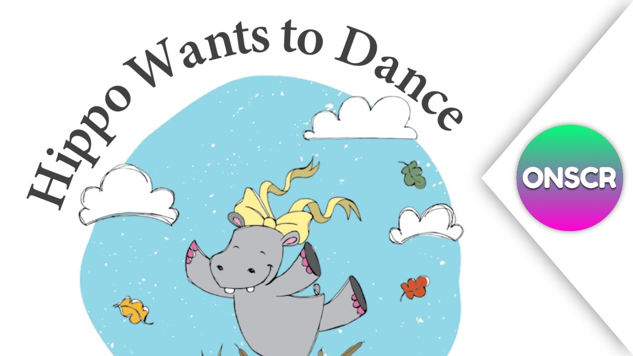 read aloud books for children hippo wants to dance youtube