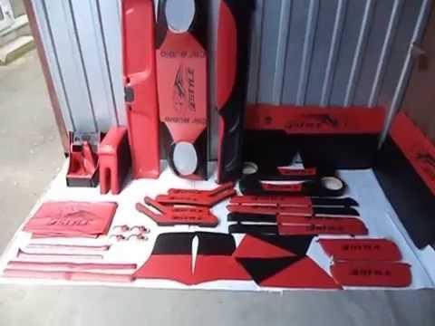 Тюнинг салона ВАЗ 2101 - 2107 красный скачать