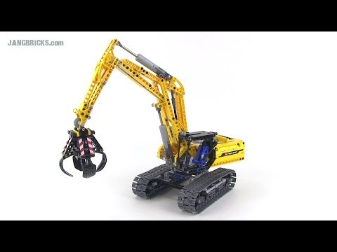 lego technic 42006 excavator set review youtube. Black Bedroom Furniture Sets. Home Design Ideas