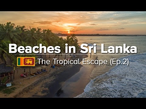 10 Best Beaches in Sri Lanka - East/South/West Coast (Tropical Escape #2)