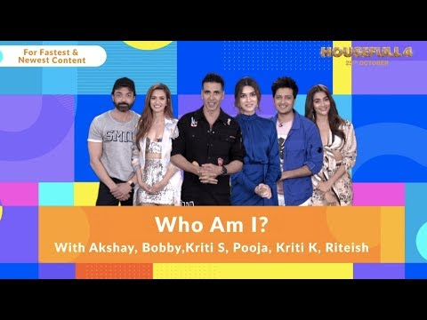 Housefull 4   Who Am I  Akshay Riteish Bobby Kriti S Pooja Kriti K Sajid N Farhad  In Cinemas Now Mp3