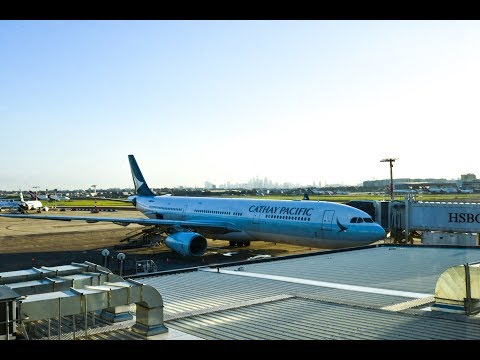 Premium Economy | Cathay Pacific CX110 Sydney to Hong Kong Airbus A330-300 (Review #26)