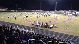 Apex Marching Band @ 2013 Northwest Guilford Fall Festival (1080 HD)