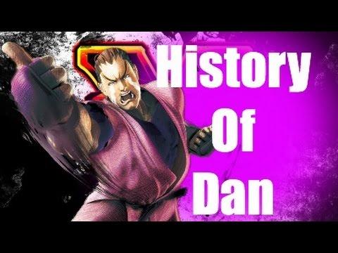 History Of Dan Street Fighter V
