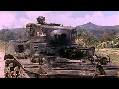 """Aftermath of Japanese last desperate """"banzai"""" attack against American forces on S...HD Stock Footage"""
