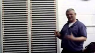 Painting A Giant Radiator Straight On Your Wall