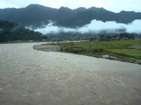 Chaukhutia Ganai Ahgnari - Flood Scene