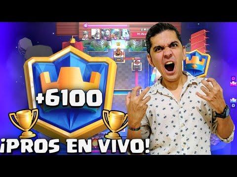 FULL PROS 5800-6100+ Y GUERRA! SORTEO 2500 GEMAS!!