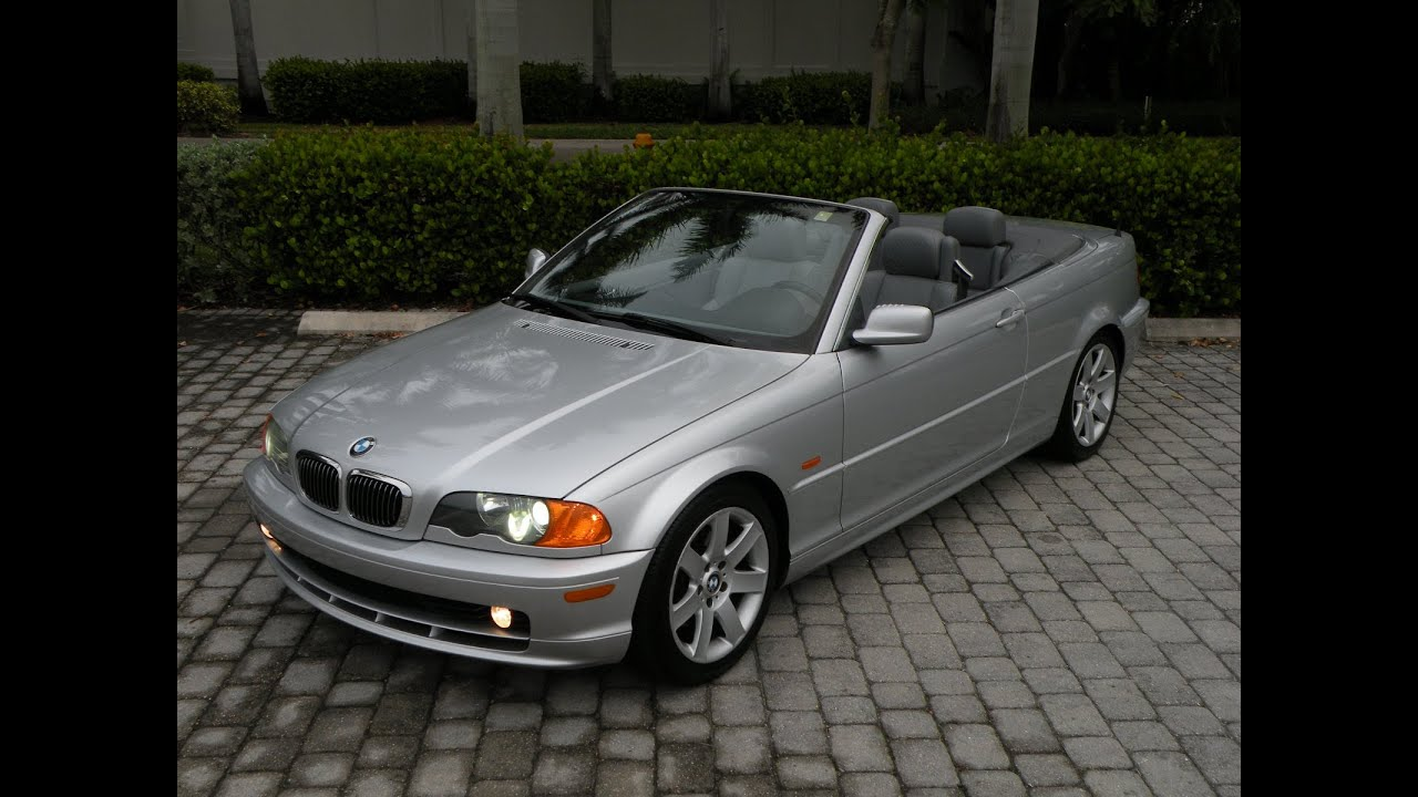 2001 bmw 3 series 325ci convertible fort myers florida for