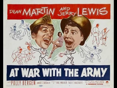 At War With The Army - Dean Martin and Jerry Lewis - Full Movie