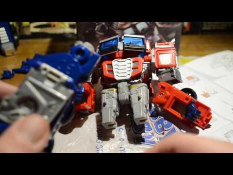BeezleBoss Spiritual Leadership custom kit combiner wars optimus part 2