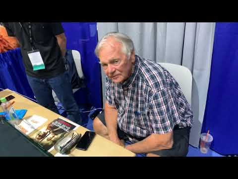 San Diego Comic Con 2019 - Gary Lockwood From 2001 A Space Odyssey