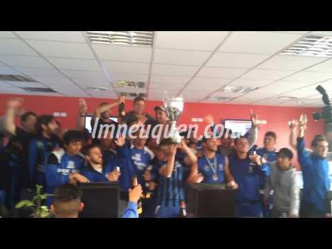 La fiesta de Rincón campeón se trasladó a LM Neuquén