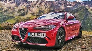 Убийца Bmw М3 И Amg C63? Alfa Romeo Giulia Quadrifoglio
