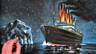 How to Draw the Titanic: Part 2: Coloured Pastels