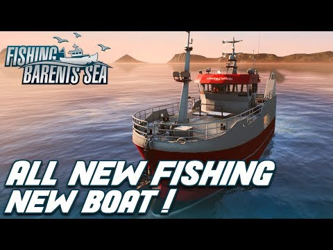 ALL NEW FISHING GAMEPLAY | RELEASE DAY - FISHING BARENTS SEA