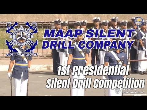 MAAP Silent Drill Company (Cut) | 1st Presidential Silent Drill Competition
